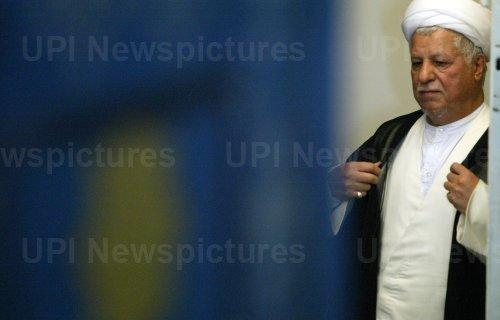 IRAN'S TOP CLERIC ALI MESHKINI FUNERAL CEREMONY IN TEHRAN