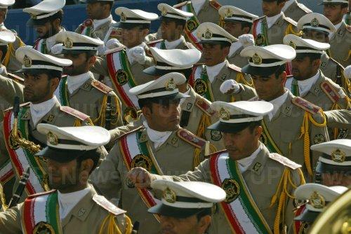 IRAN PARADE CEREMONY MARKING START OF IRAN-IRAQ WAR