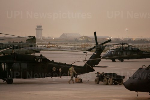 Military personnel at U.S base in Afghanistan
