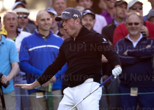 Jamie Donaldson at the Masters
