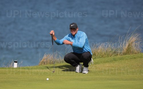 Brooks Koepka on the 3rd day of the Open Championship at Royal Portrush