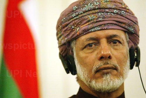 IRAN'S FM HOLD A PRESS CONFERENCE WITH HIS OMANI COUNTERPART