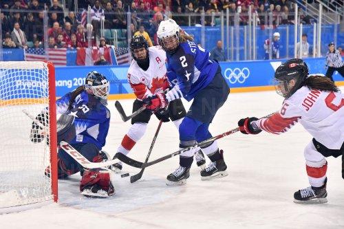 Women's Ice Hockey Finals at the Pyeongchang 2018 Winter Olympics