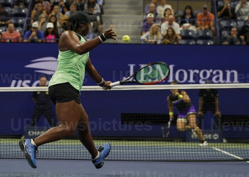 Taylor Townsend, of the United States, at the US Open