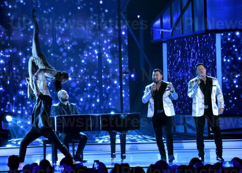 Banda MS performs at the Billboard Latin Music Awards in Las Vegas