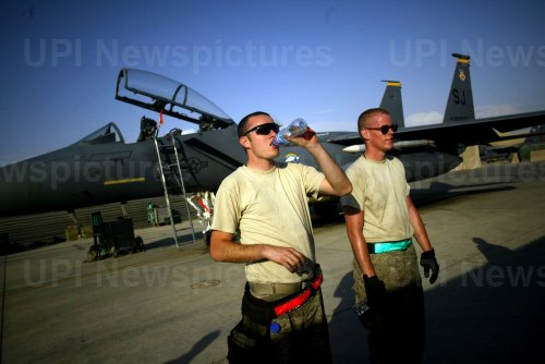 Military personnel at U.S. base in Afghanistan