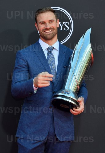 Chris Long attends the 27th annual ESPY Awards in Los Angeles