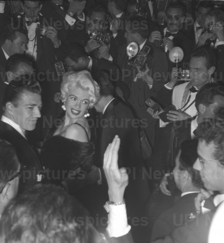 Jayne Mansfield and Mickey Hargitay attend gala in Cannes