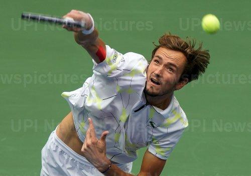 Daniil Medvedev, of Russia, at US Open
