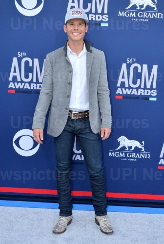 Granger Smith attends the Academy of Country Music Awards in Las Vegas