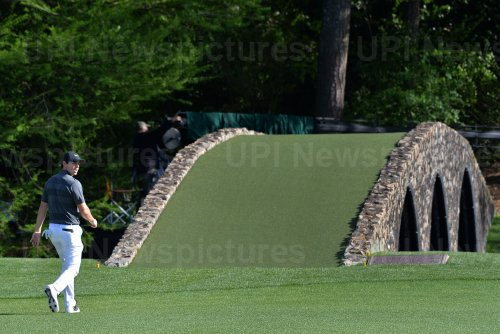 Rory McIlroy at the Masters