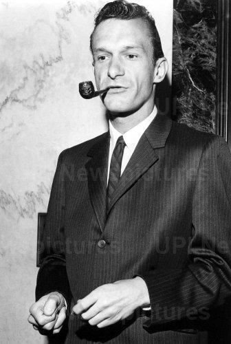 HUGH HEFNER FOLLOWING A 1963 COURT APPEARANCE