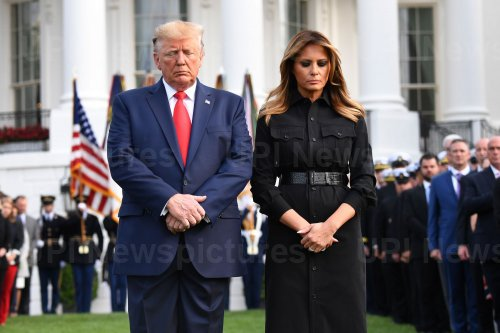 President Trump Participates in Moment of Silence on 9/11 in Washington, DC