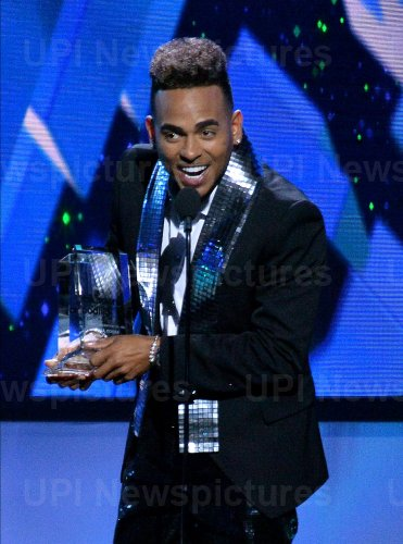 Ozuna wins award at the Billboard Latin Music Awards in Las Vegas