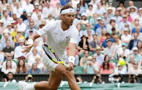 Rafael Nadal defeats Jo-Wilfried Tsonga in third round at Wimbledon
