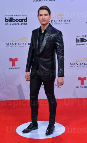 Christian Acosta attends the Billboard Latin Music Awards in Las Vegas