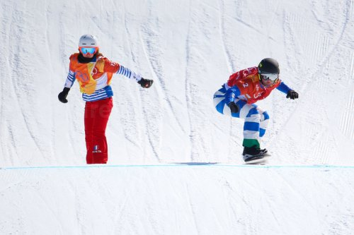 Ladies' Snowboard Cross at Pyeongchang 2018 Winter Olympics