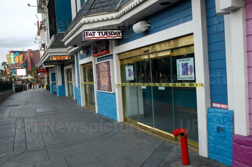 Las Vegas Strip Shutdown