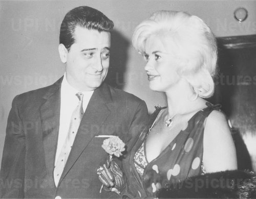 Jayne Mansfield with Enrico Bomba