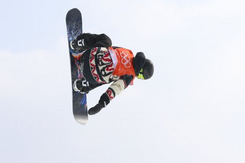 Canadian Nicholson in slopestyle at Pyeongchang 2018 Winter Olympics