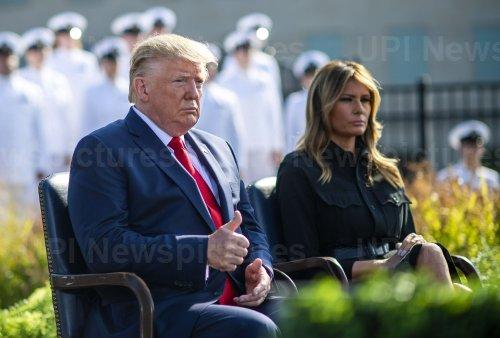President Trump speaks at the Pentagon for 9/11