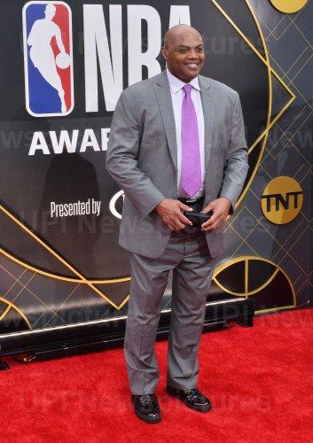Charles Barkley attends the 2019 NBA Awards in Santa, Monica, California