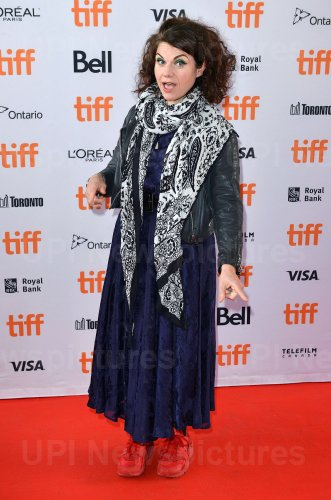 Caitlin Moran attends 'How To Build A Girl' premiere at Toronto Film Festival