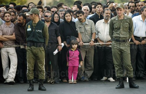 IRAN HANGED TWO MURDERED IN PUBLIC IN TEHRAN.