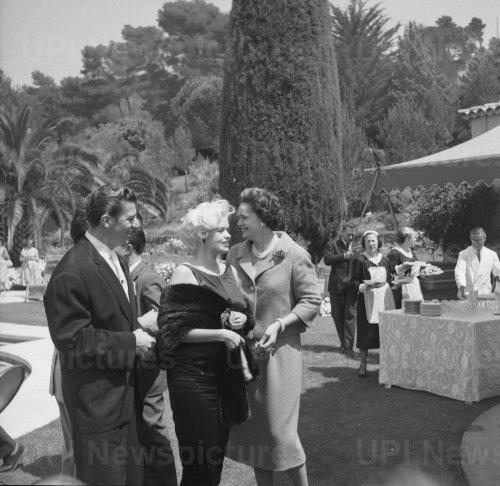 Jane Mansfield and Mickey Hargitay