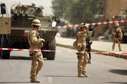 Suicide attack kills two civilians and wounds six in Kabul