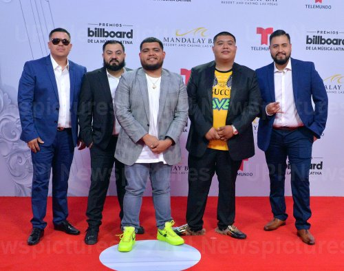 Legado 7 attends the Billboard Latin Music Awards in Las Vegas