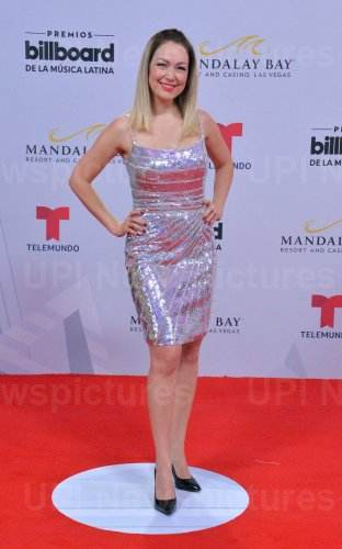 Veronica Albornoz attends the Billboard Latin Music Awards in Las Vegas