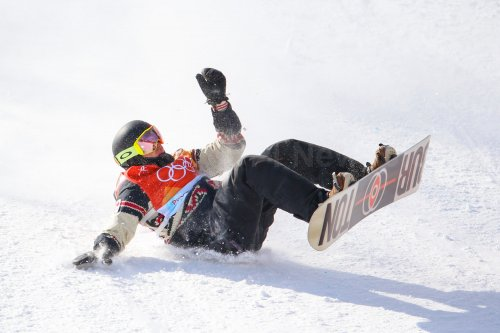 Canadian McMorris in slopestyle finals in Pyeongchang 2018 Winter Olympics