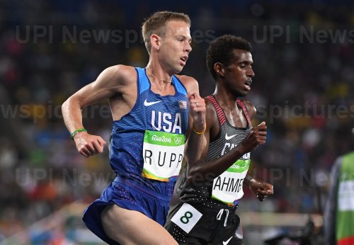 Galen Rupp of the United States competes  at Rio Olympics