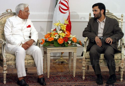 Indian Foreign Minister in Iran