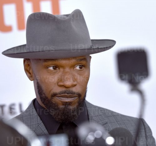 Jamie Foxx attends 'Just Mercy' premiere at Toronto Film Festival