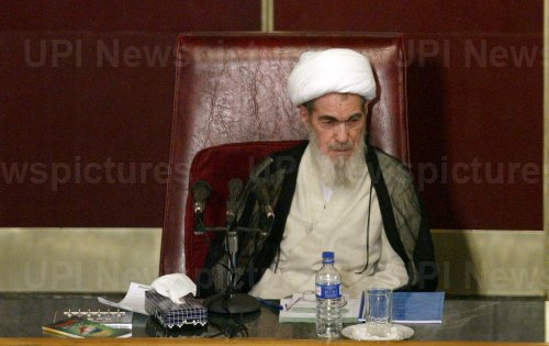 IRAN'S TOP CLERIC ALI MESHKINI DEAD EARLY FRIDAY MORNING IN A HOSPITAL IN TEHRAN