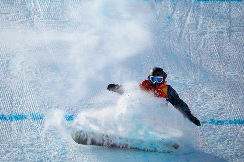 Norwegian Bergrem in slopestyle finals in Pyeongchang 2018 Winter Olympics