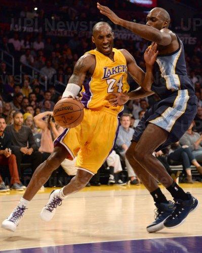 Los Angeles Lakers vs. Memphis Grizzlies in Los Angeles