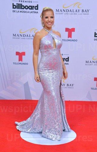 Elva Saray attends the Billboard Latin Music Awards in Las Vegas