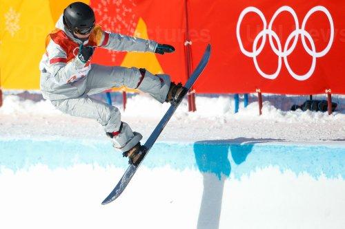 Ladies' Halfpipe finals at Pyeongchang 2018 Winter Olympics
