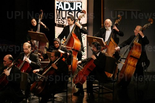 Iran's national orchestra performs in Tehran