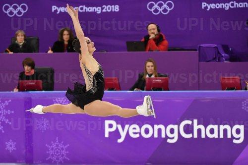 Ladies Figure Skating Free Skating Finals at the Pyeongchang 2018 Winter Olympics