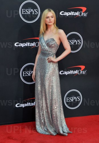 Elle Fanning attends the 27th annual ESPY Awards in Los Angeles