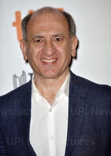 Armando Iannucci attends 'The Personal History of David Copperfield' premiere at Toronto Film Festival