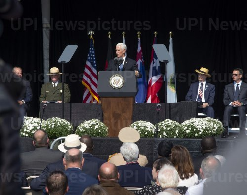 Vice President Mike Pence at  Flight 93 National Memorial