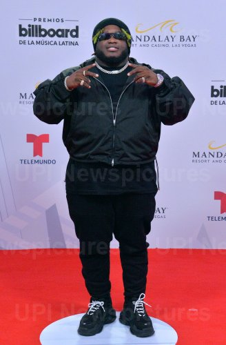 Sech attends the Billboard Latin Music Awards in Las Vegas