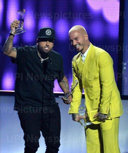 Nicky Jam and J Blavin wins award at the Billboard Latin Music Awards in Las Vegas
