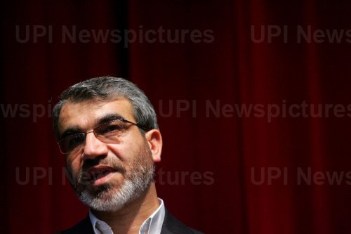 Iran's Guardian Council spokesman holds a press conference in Tehran