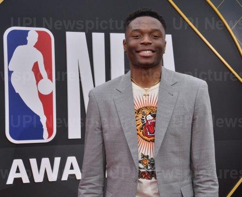 Mfiondu Kabengele attends the 2019 NBA Awards in Santa, Monica, California